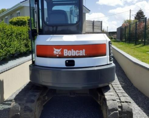 Mini-pelle BOBCAT E50