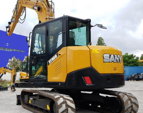 PELLE COMPACT SANY SY80C